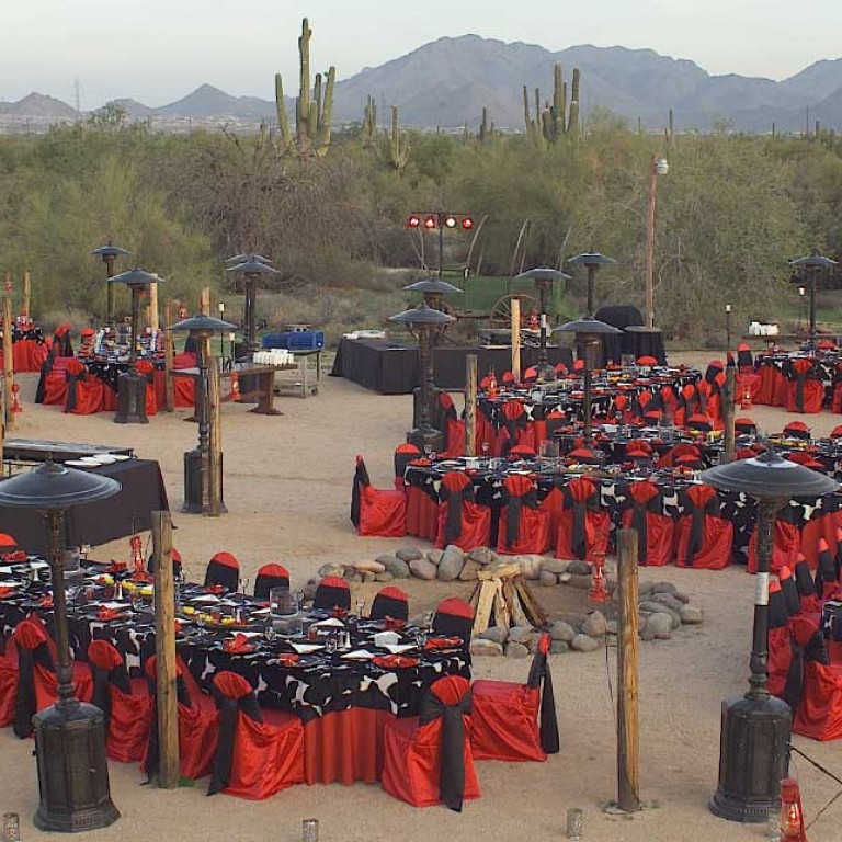 Dining in the Desert